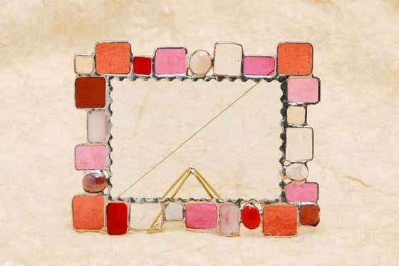 グラバーの石畳(ステンドグラスのフォトスタンド) 02010001