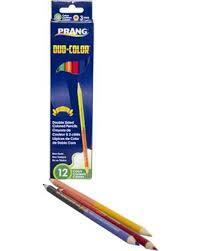 DIXON ツイン色鉛筆 12 色