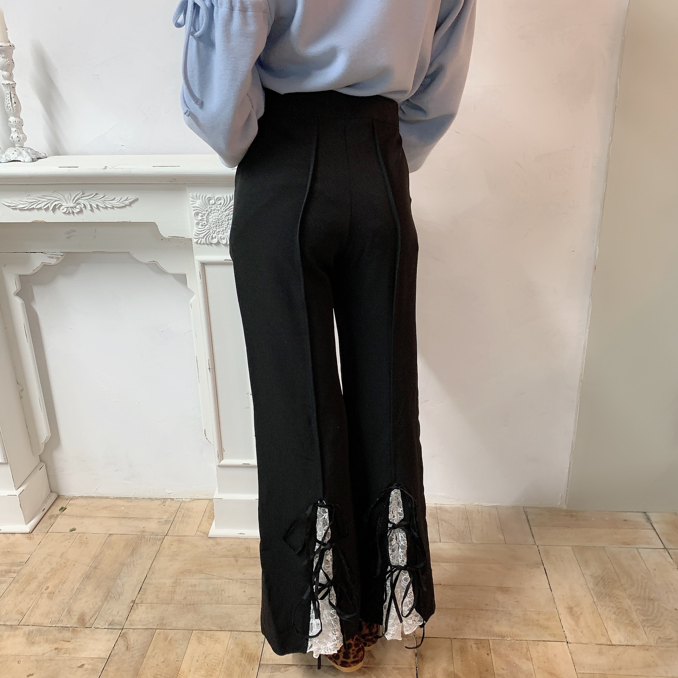 original lace up pants