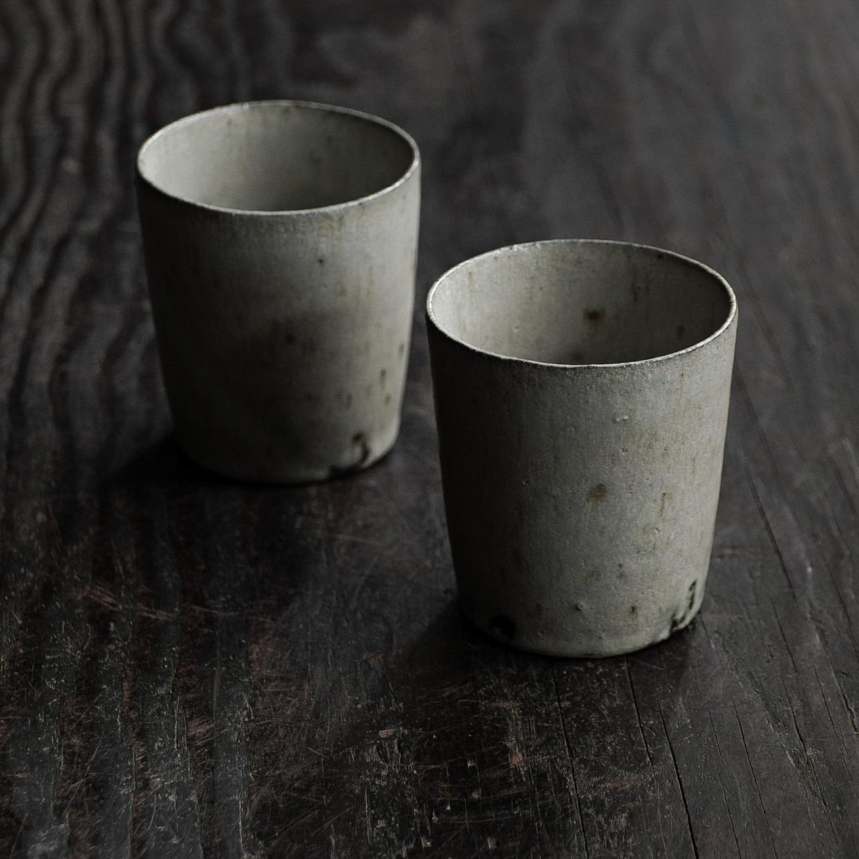 青釉カップ sekiguchi noritaka