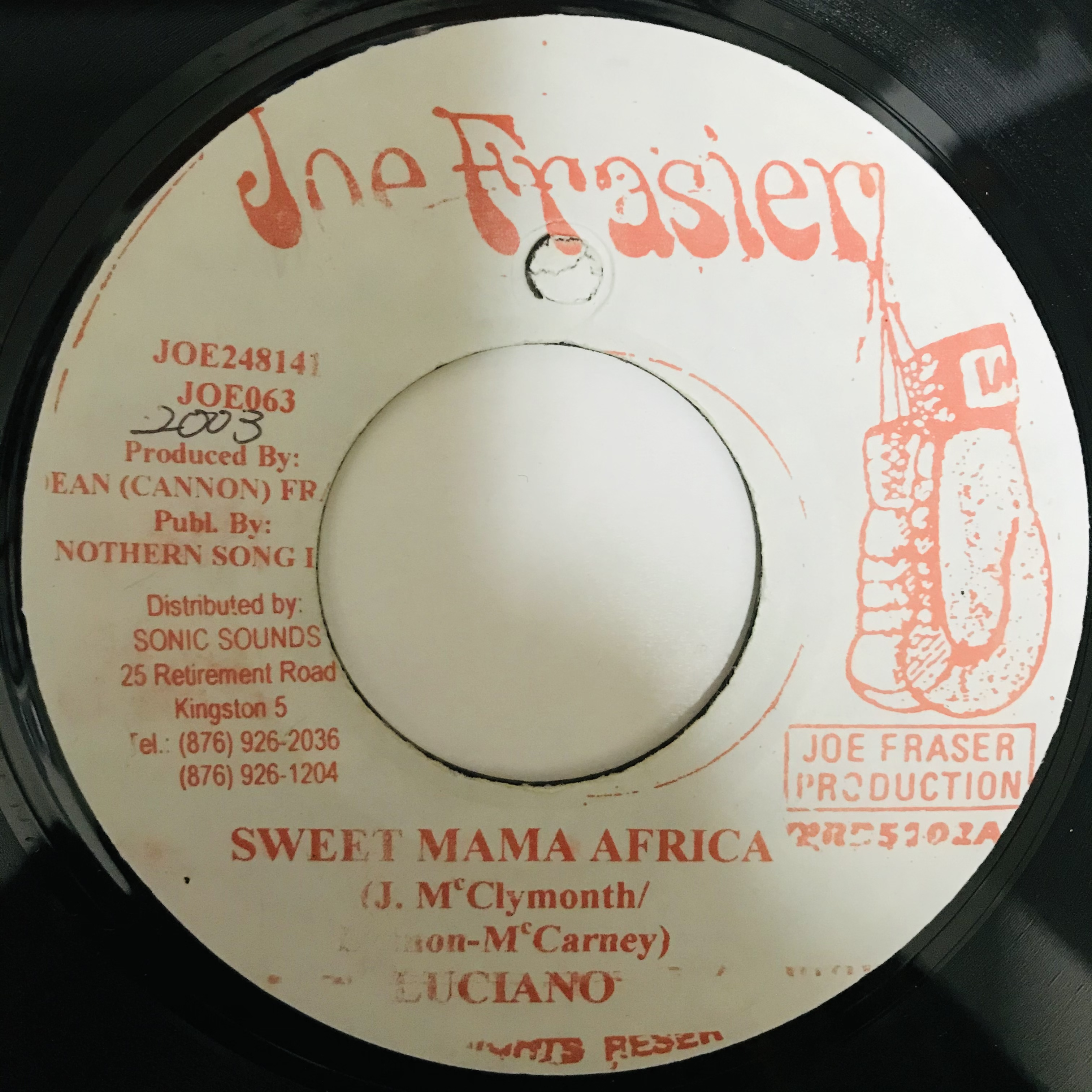 Luciano - Sweet Mama Africa 【7-10918】