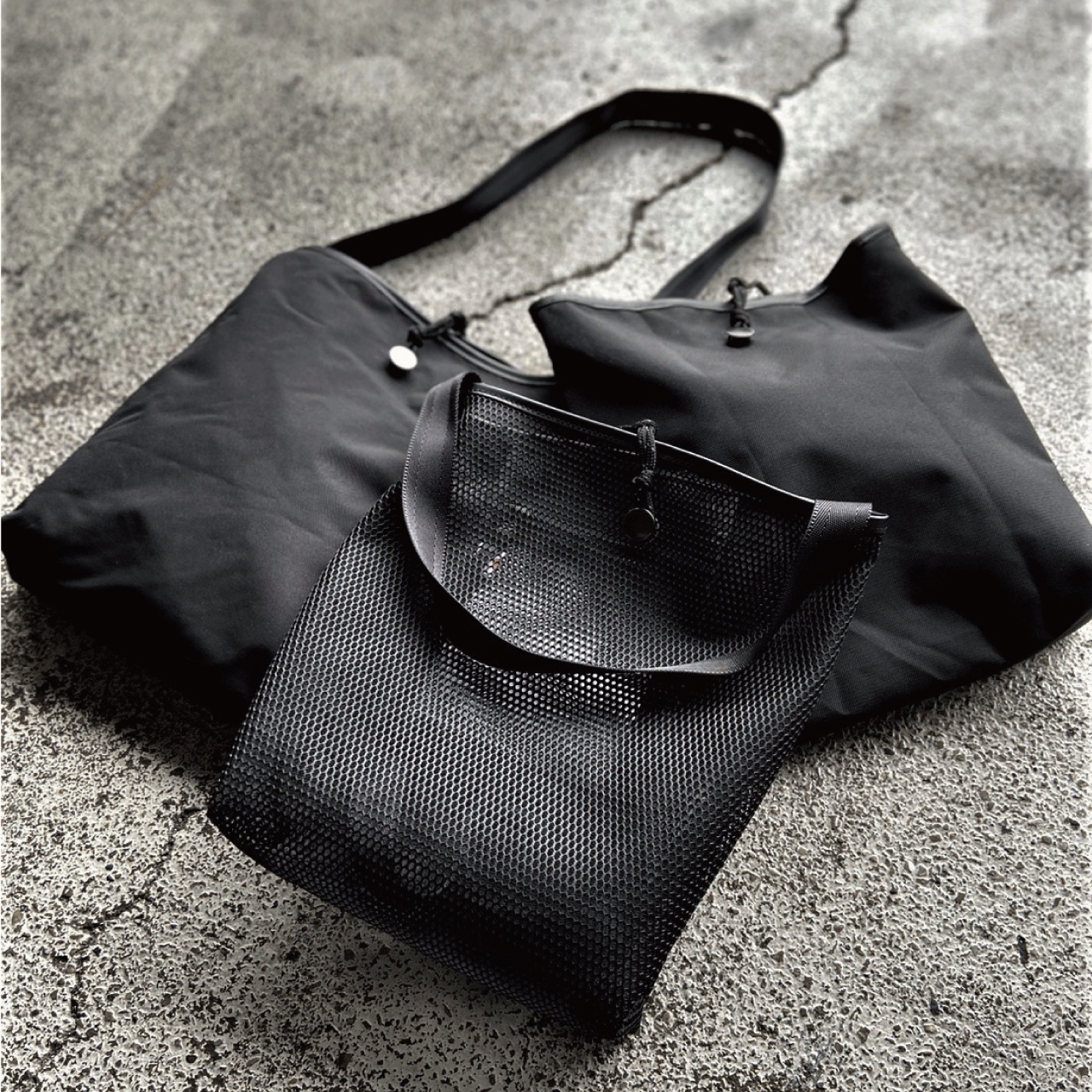 L4012 NAKI 【M】 (shoulder / tote / packable)