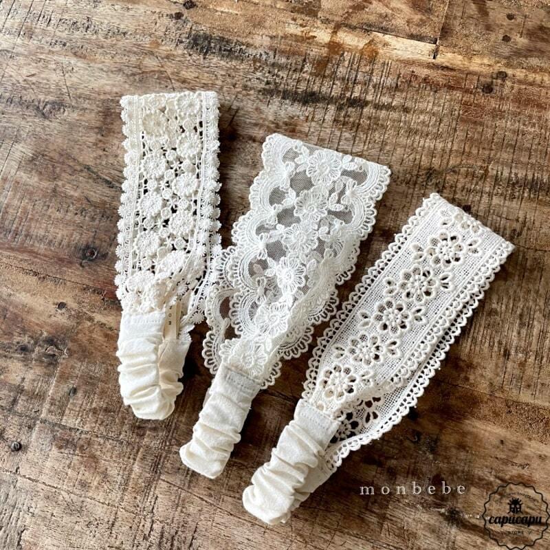 «sold out» monbebe lace head dress  レースヘッドドレス