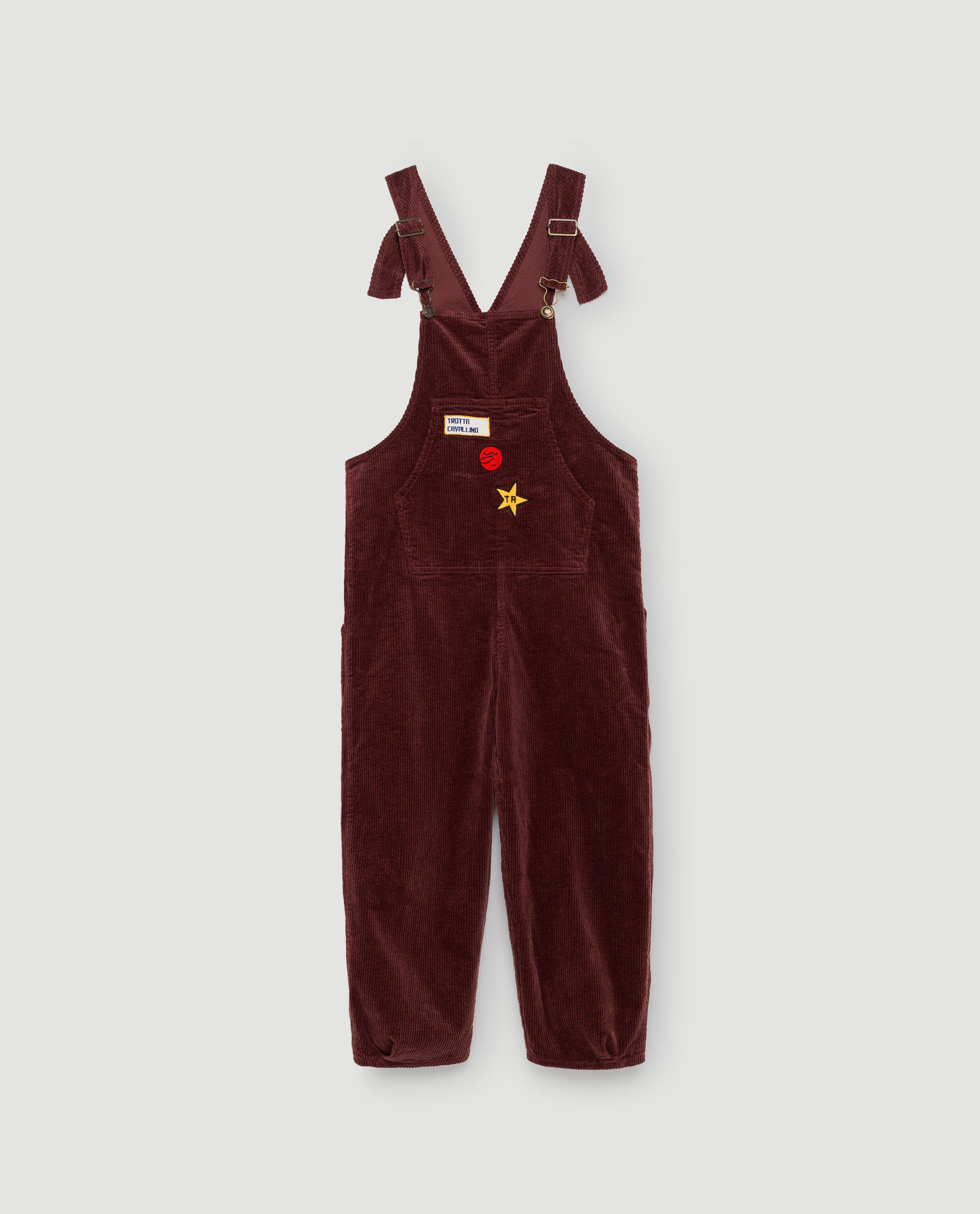 《THE ANIMALS OBSERVATORY 2017AW》MECHANIC KIDS JUMPSUIT / RED GARNET