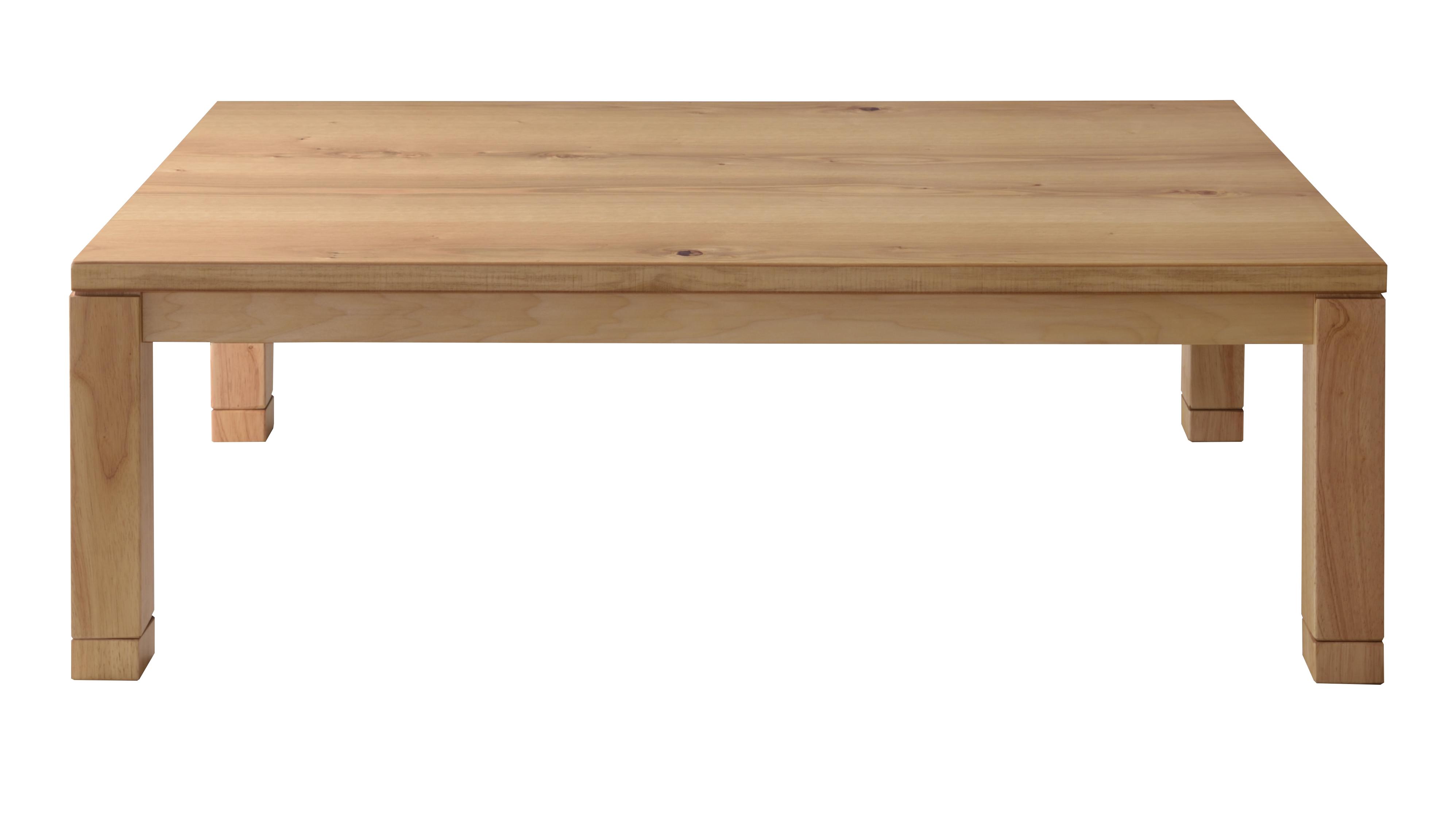 〈日本製〉Natural Wood KOTATSU / 無垢材コタツテーブル