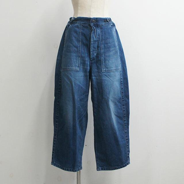 ORDINARY FITS オーディナリーフィッツ JAMES PANTS used レディース パンツ ロング デニム ゆったり 通販 (品番of-p002d)