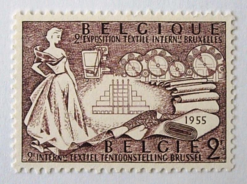 繊維工業 / ベルギー 1955