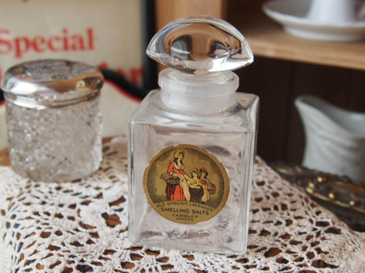 イギリスアンティーク スメリングソルトのボトル