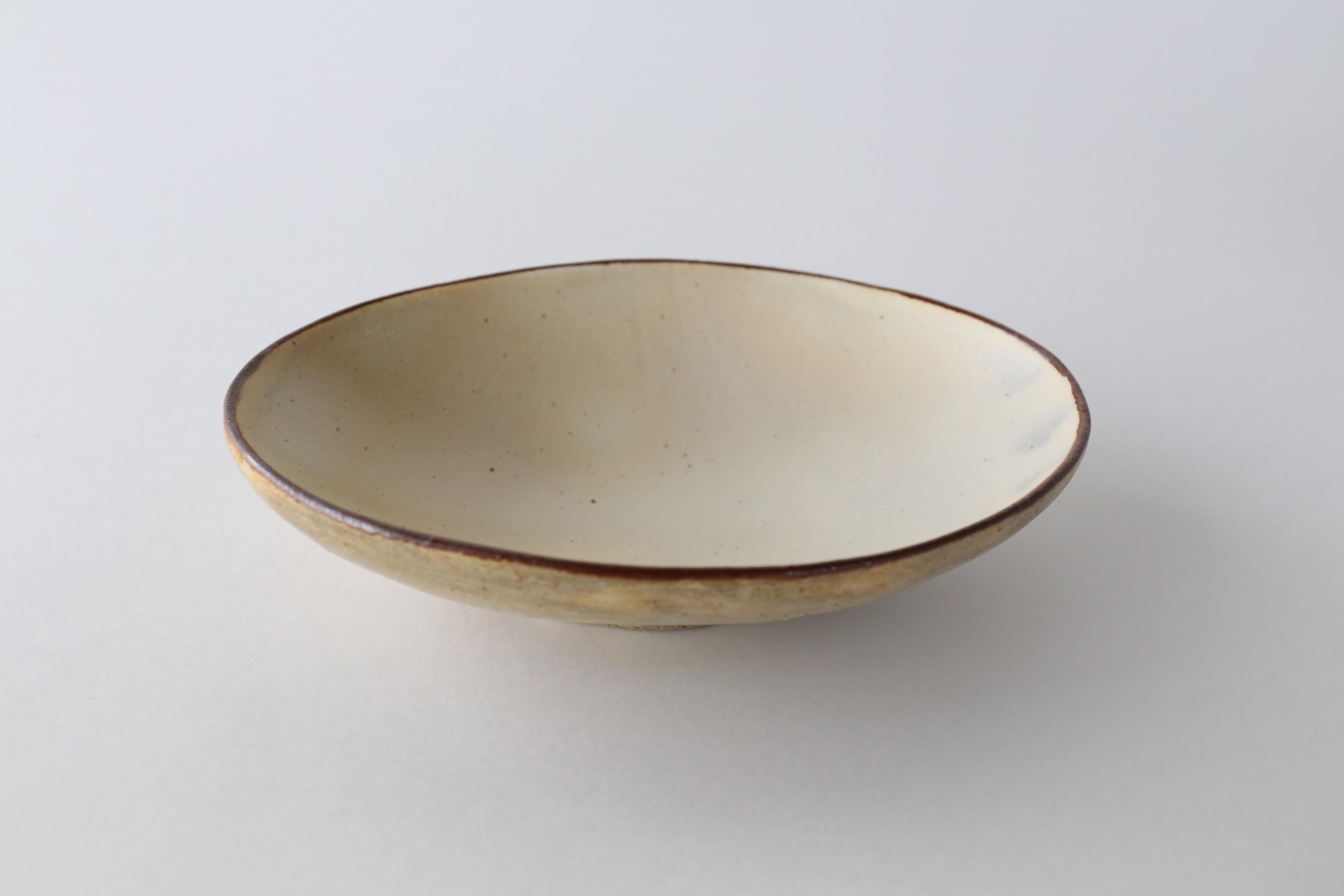 くにさきかたち工房 キナリ・楕円皿(大)
