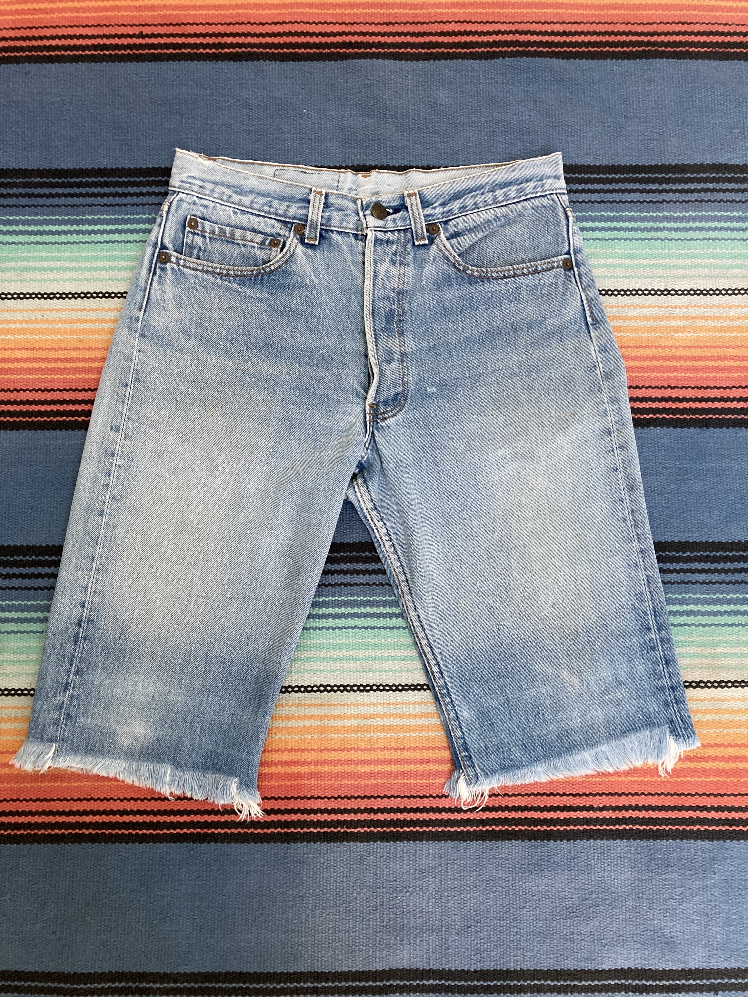 80's Levi's 501 Cut Off Short Pants <MADE in USA>
