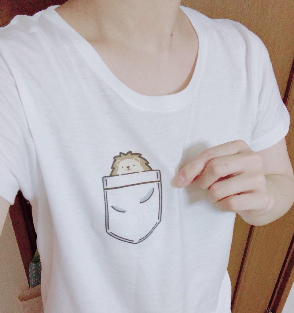 ポケットハリネズミ [ハリネズミ│Tシャツ]