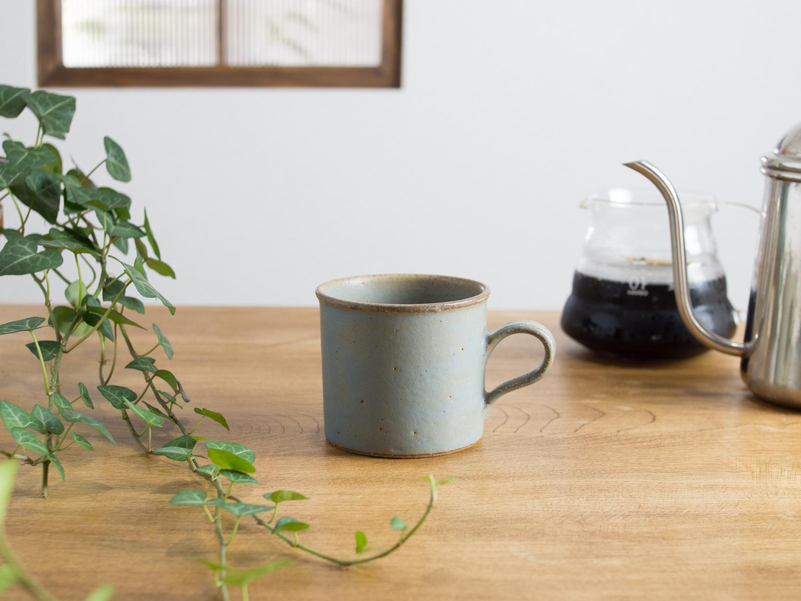 SHIROUMA コーヒーカップ 灰色(マグカップ)/長谷川 哲也