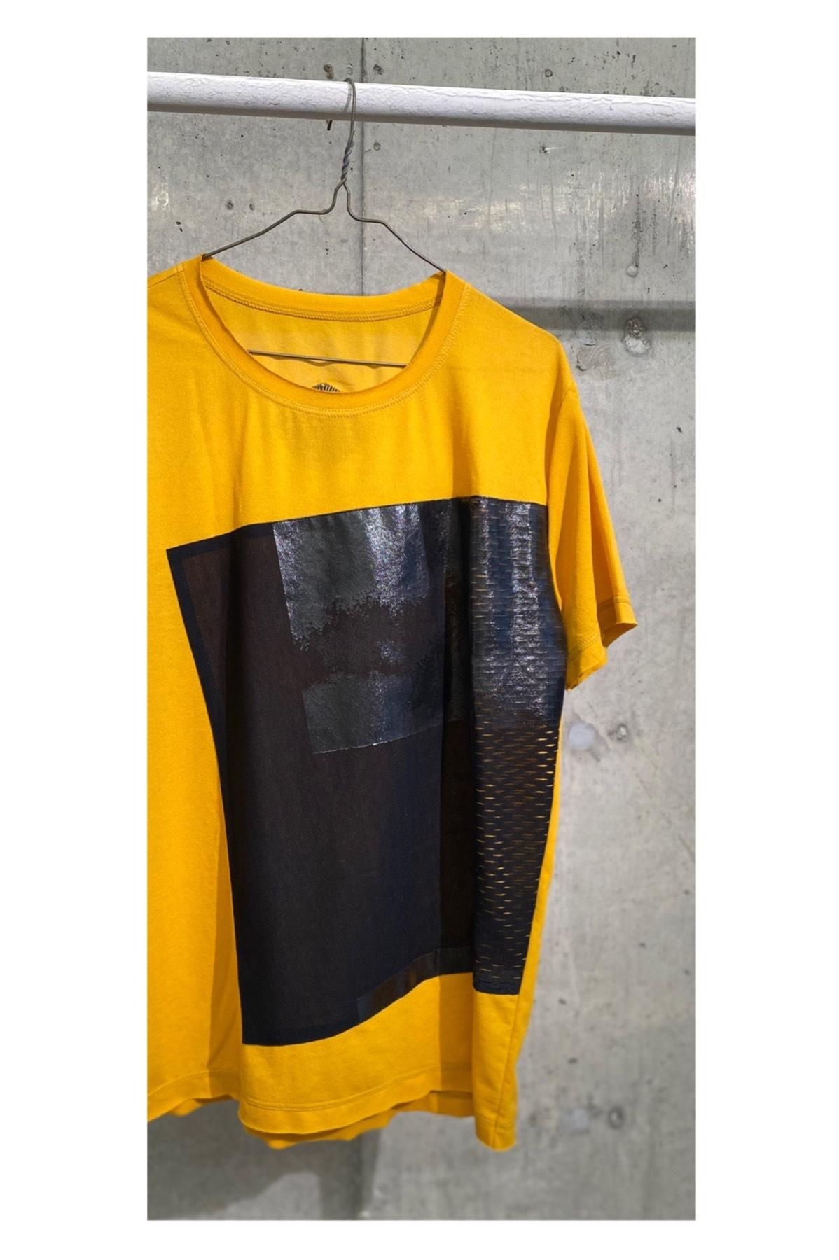 [予約販売] 着るアート Tshirt [KABUKU]yellow MICHAIL GKINIS AOYAMA[送料/税込]