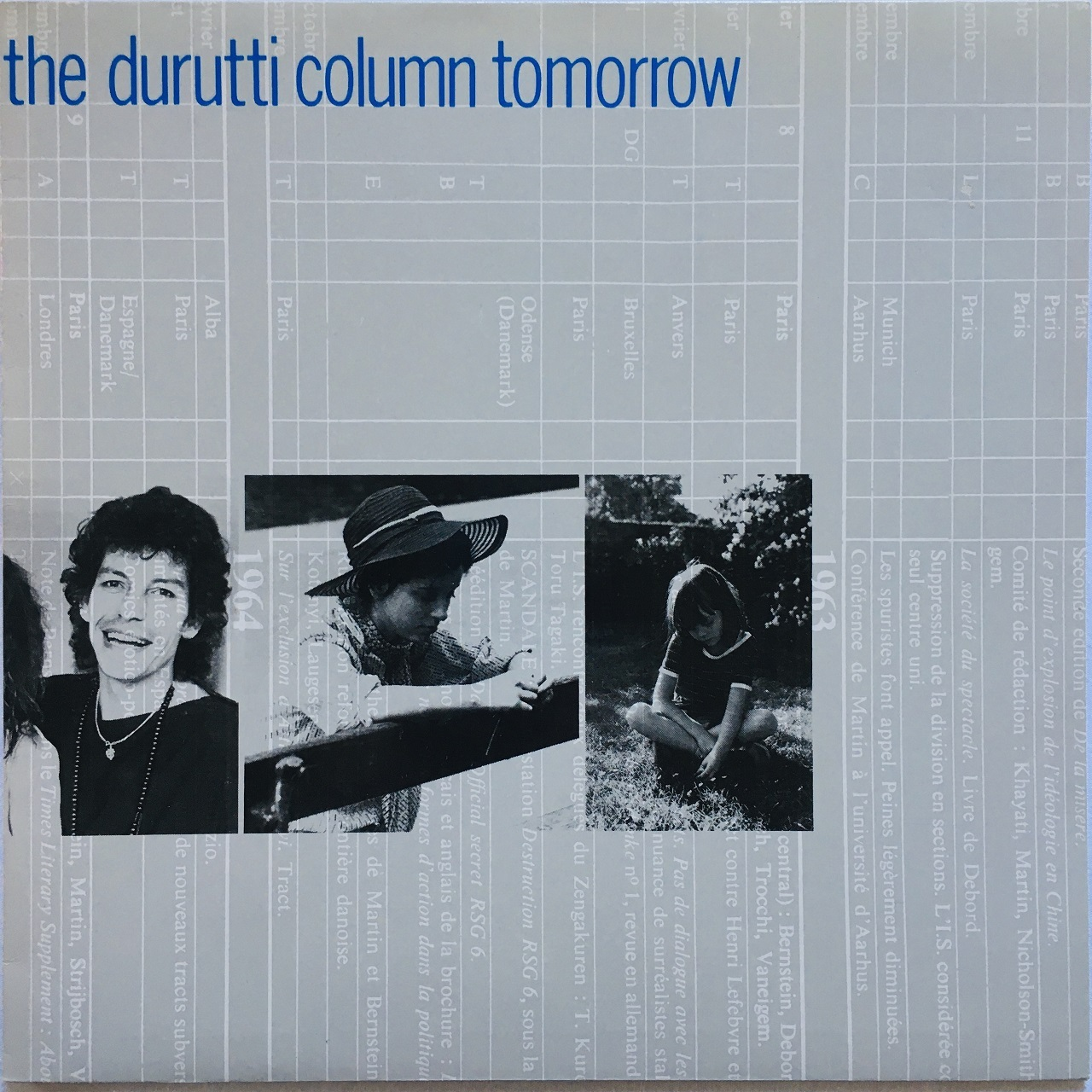 【12inch・ベルギー盤】The Durutti Column / Tomorrow