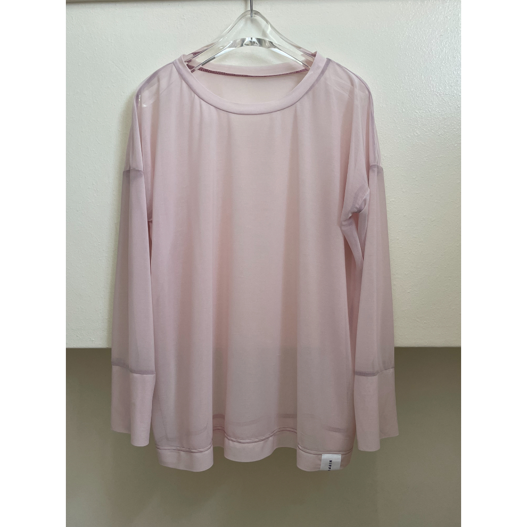 【hippiness】 reversy espandy long sleeve(pink) / 【ヒッピネス】リバーシー エスパンディー ロング スリーブ(ピンク)