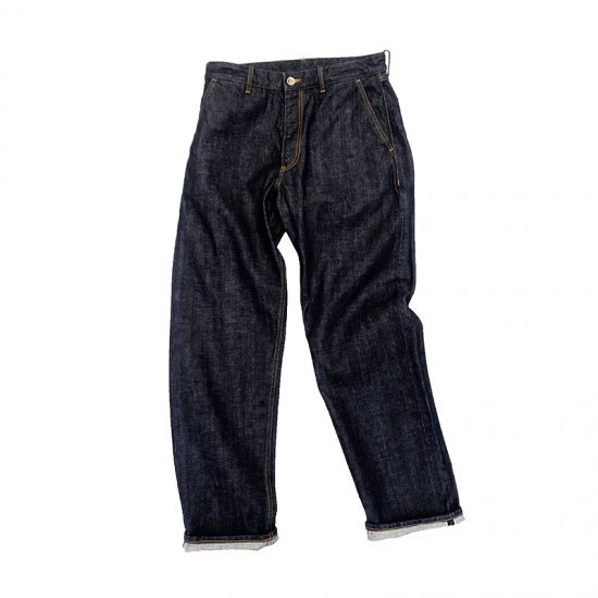 BROWN by 2-tacs / DENIM PANTS STRAIGHT