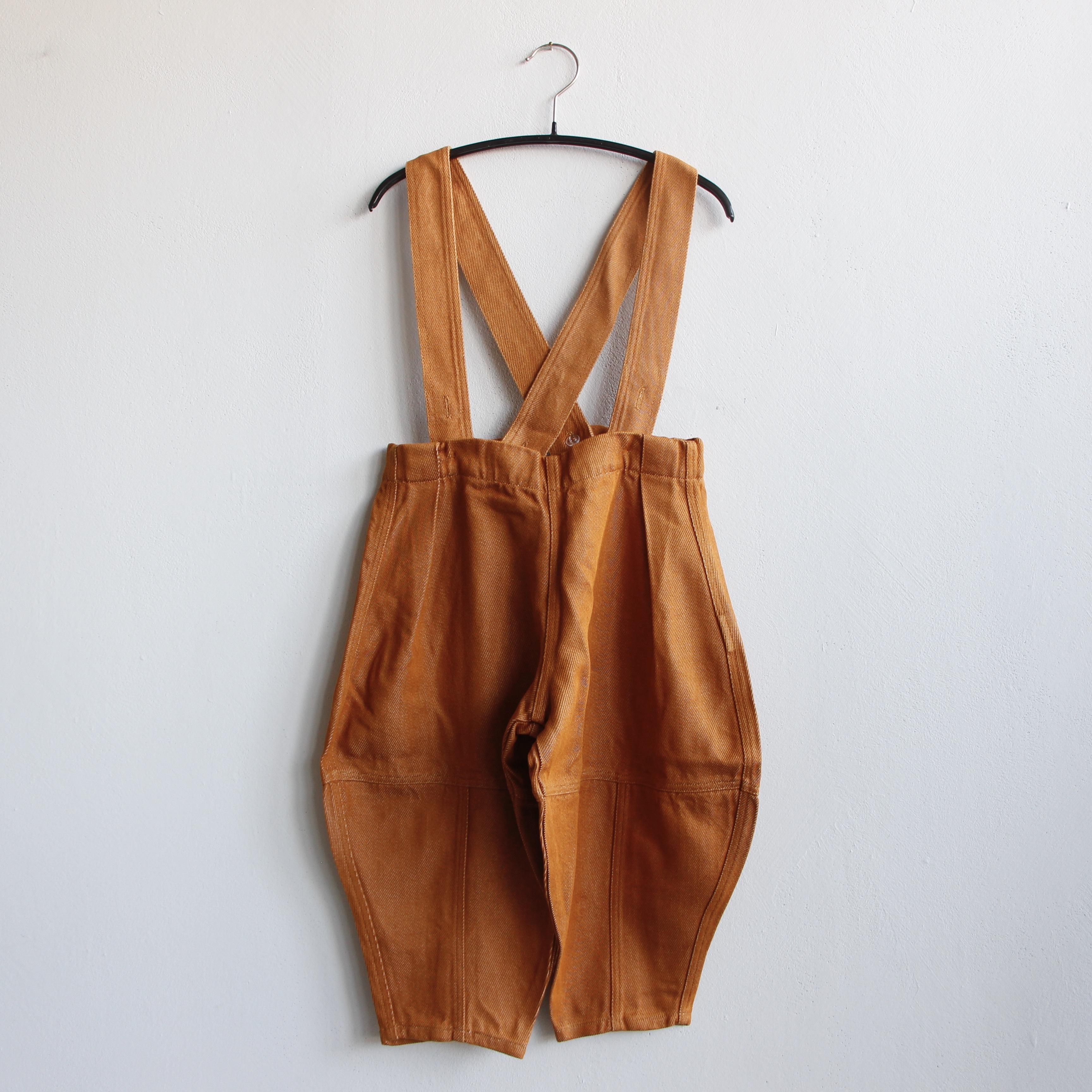 《WOLF & RITA 2021SS》VICENTE trousers / OCRE