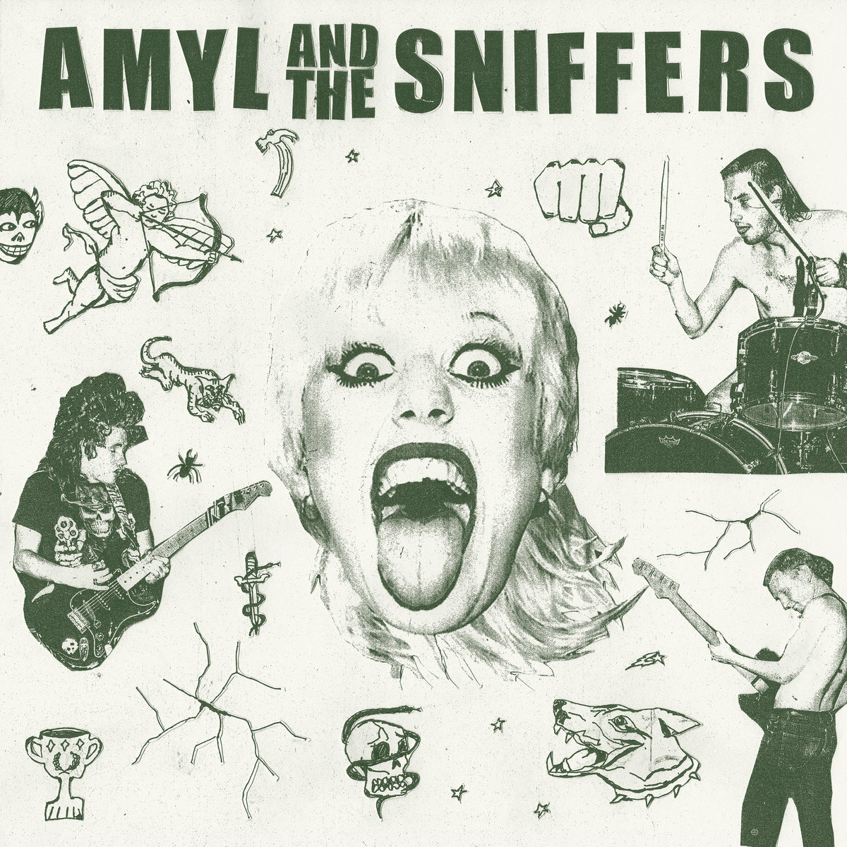 Amyl and the Sniffers - Amyl and the Sniffers (Ltd. LP)