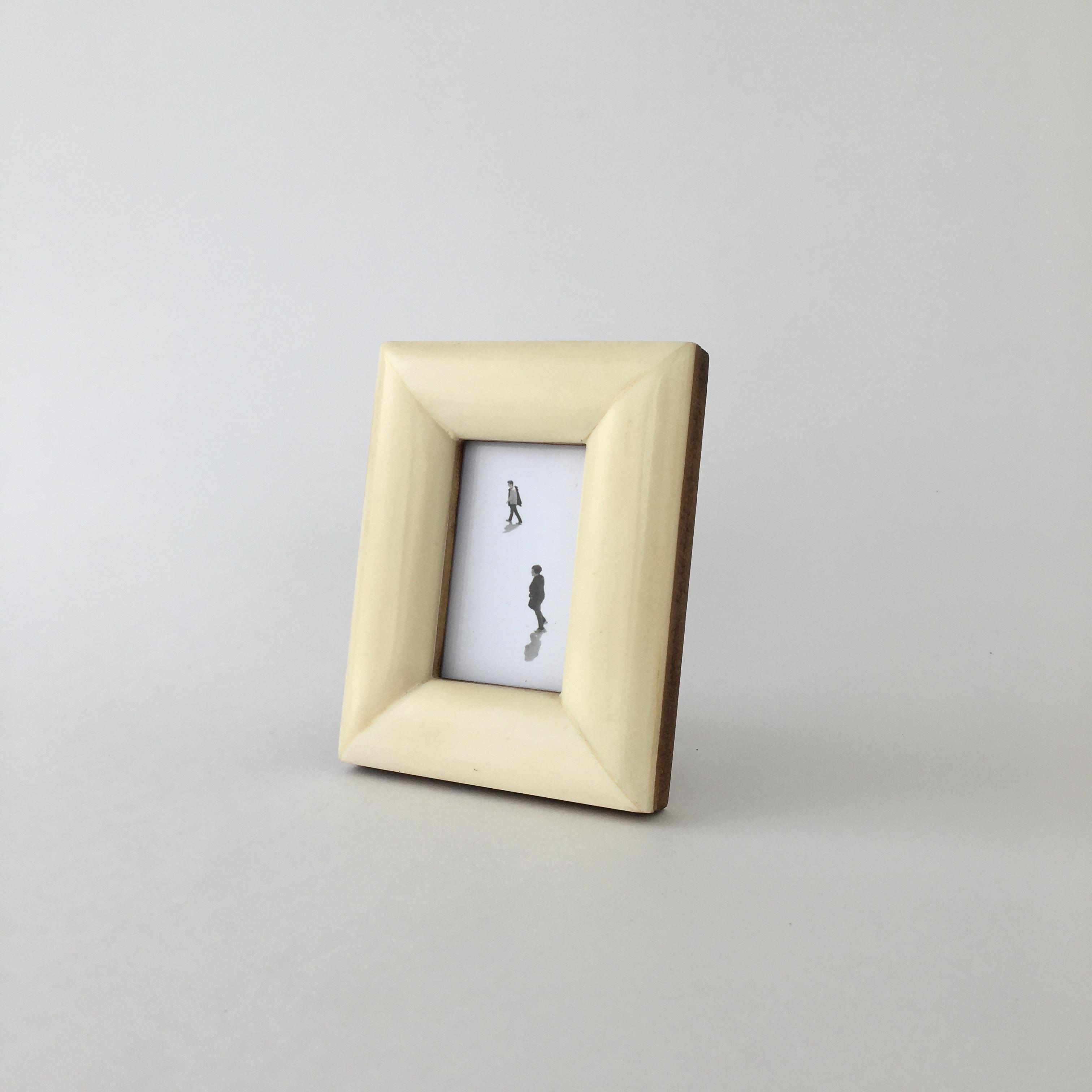 Ivory Bone Frame フォトフレーム(11.5cm)