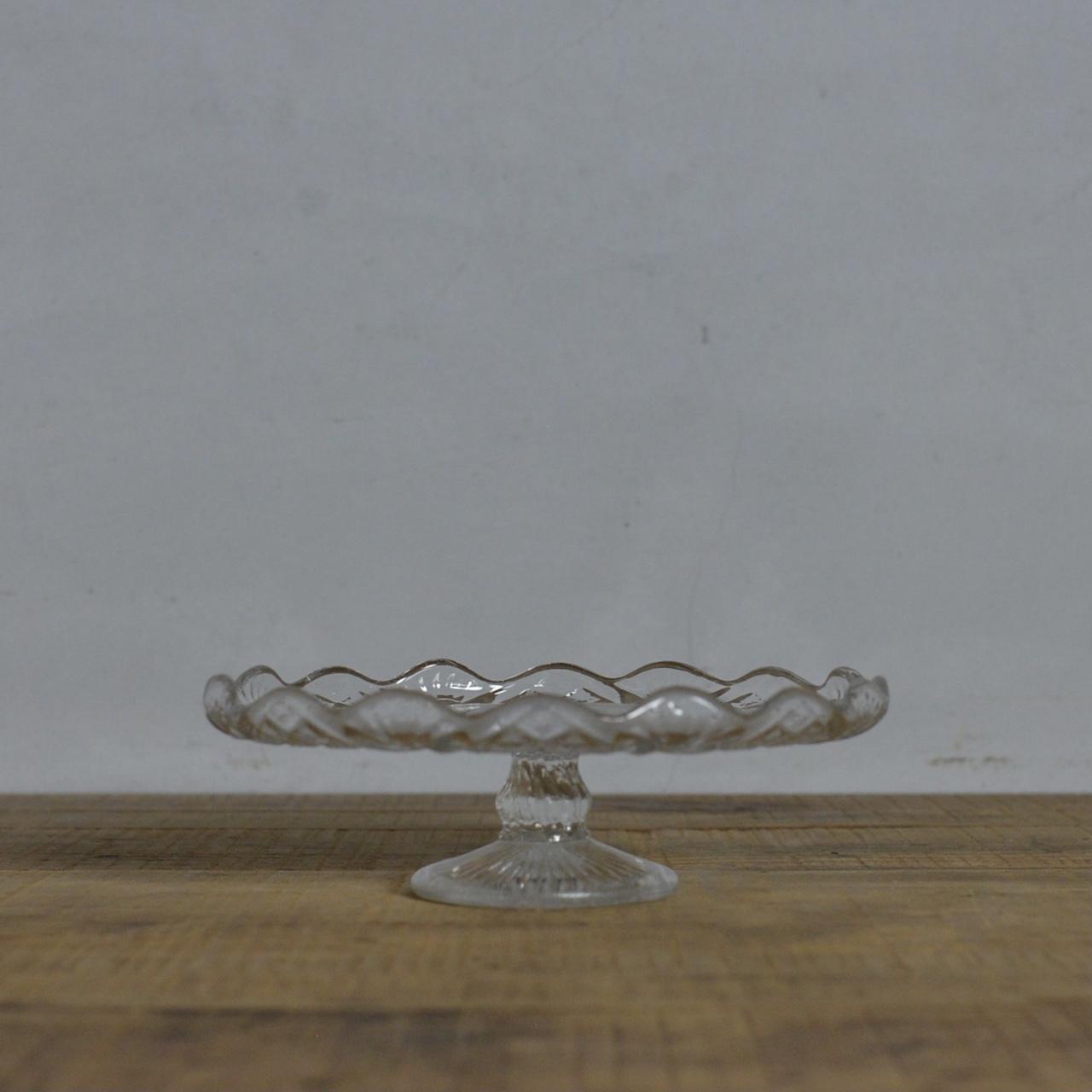 Compote  / コンポート【C】〈ケーキスタンド・食器・プレスガラス〉112141