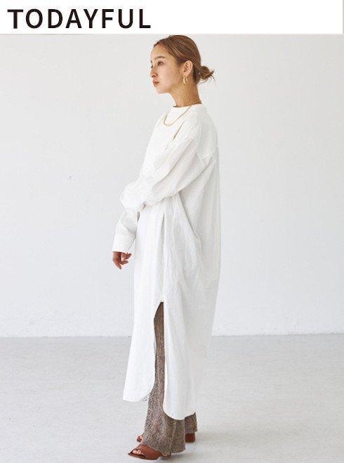 TODAYFUL (トゥデイフル) Dress Shirts Onepiece 21秋冬予約【12120308】