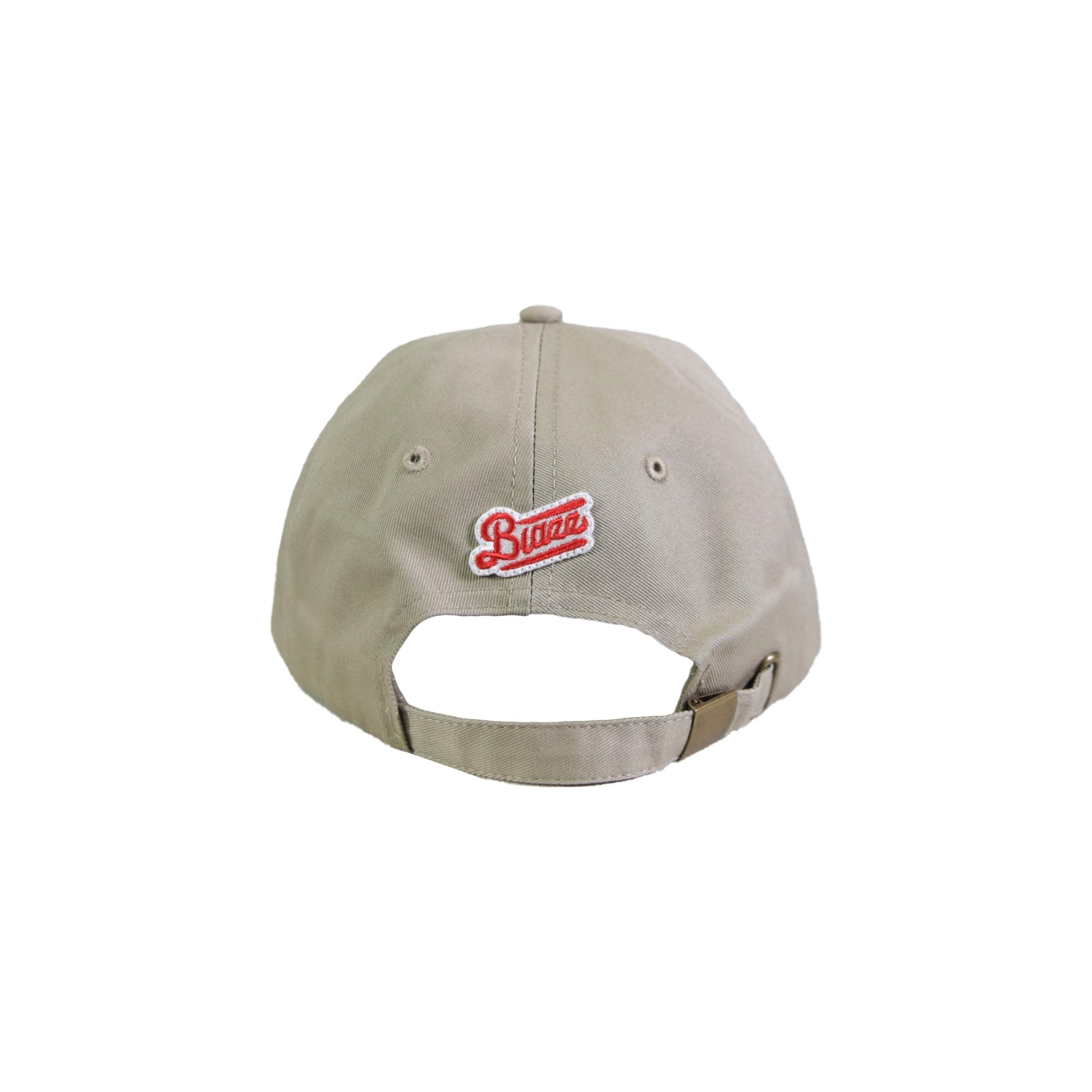 MINI LOGO COTTON CAP [SAND x RED]