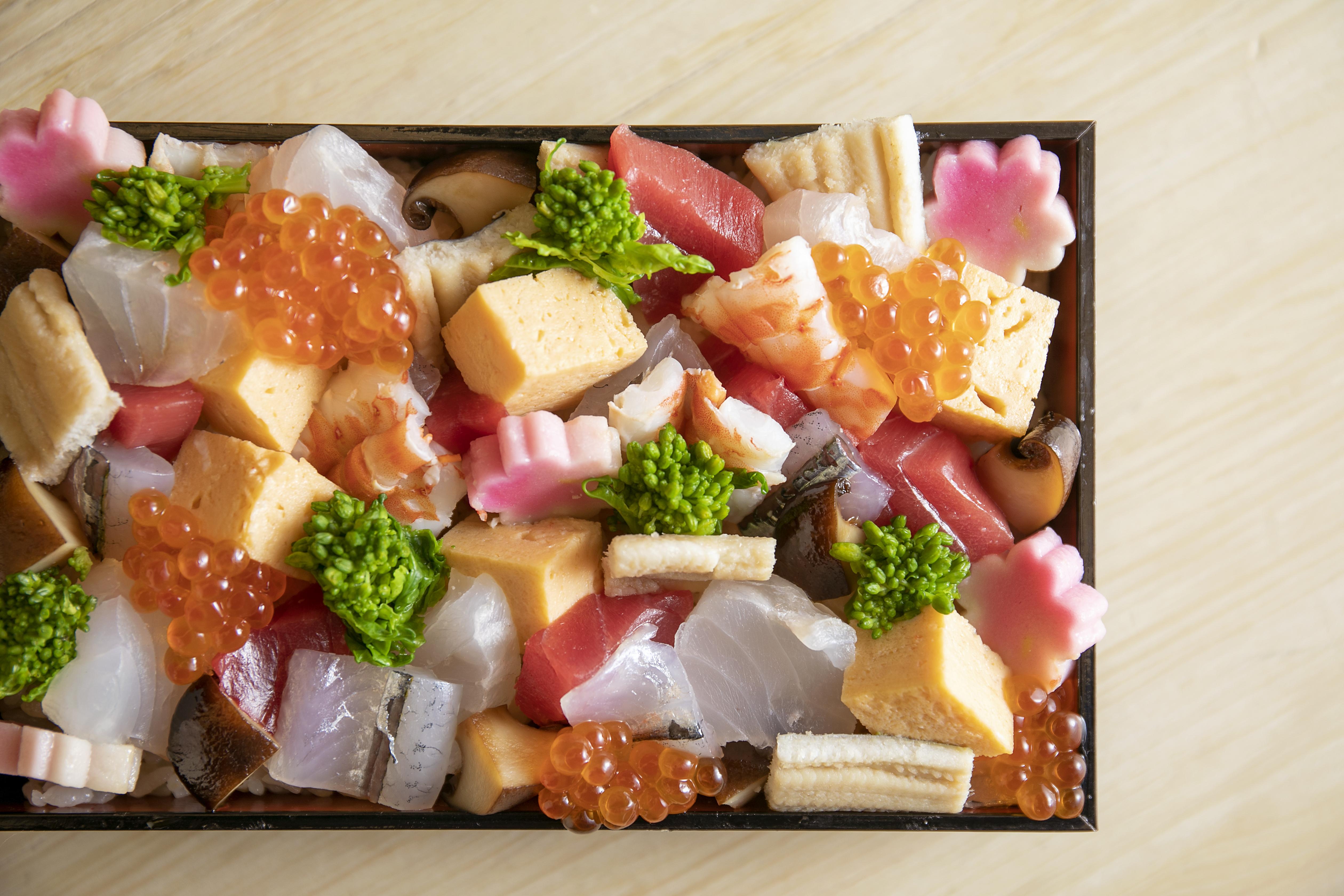 藍泉ちらし寿司