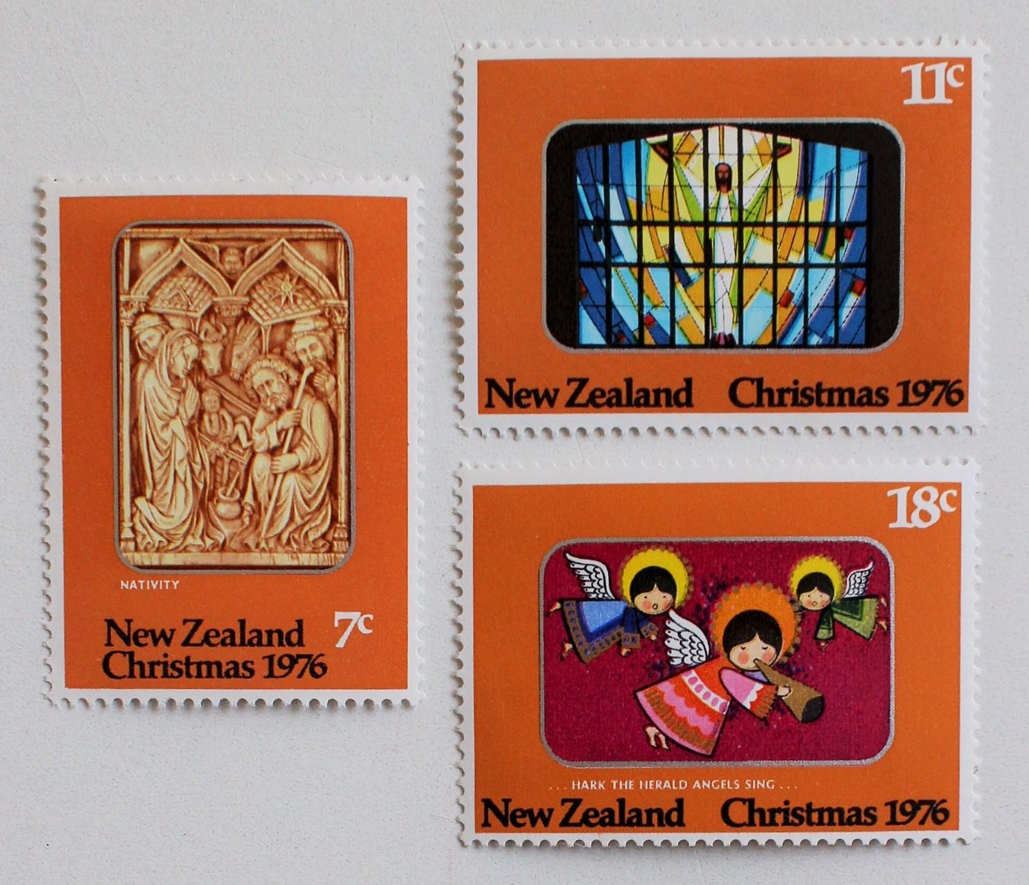 クリスマス / ニュージーランド 1976