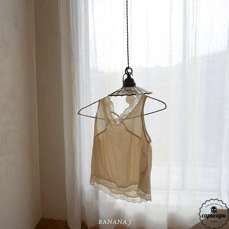 «sold out» banana j layered vest 2colors レイヤードベスト