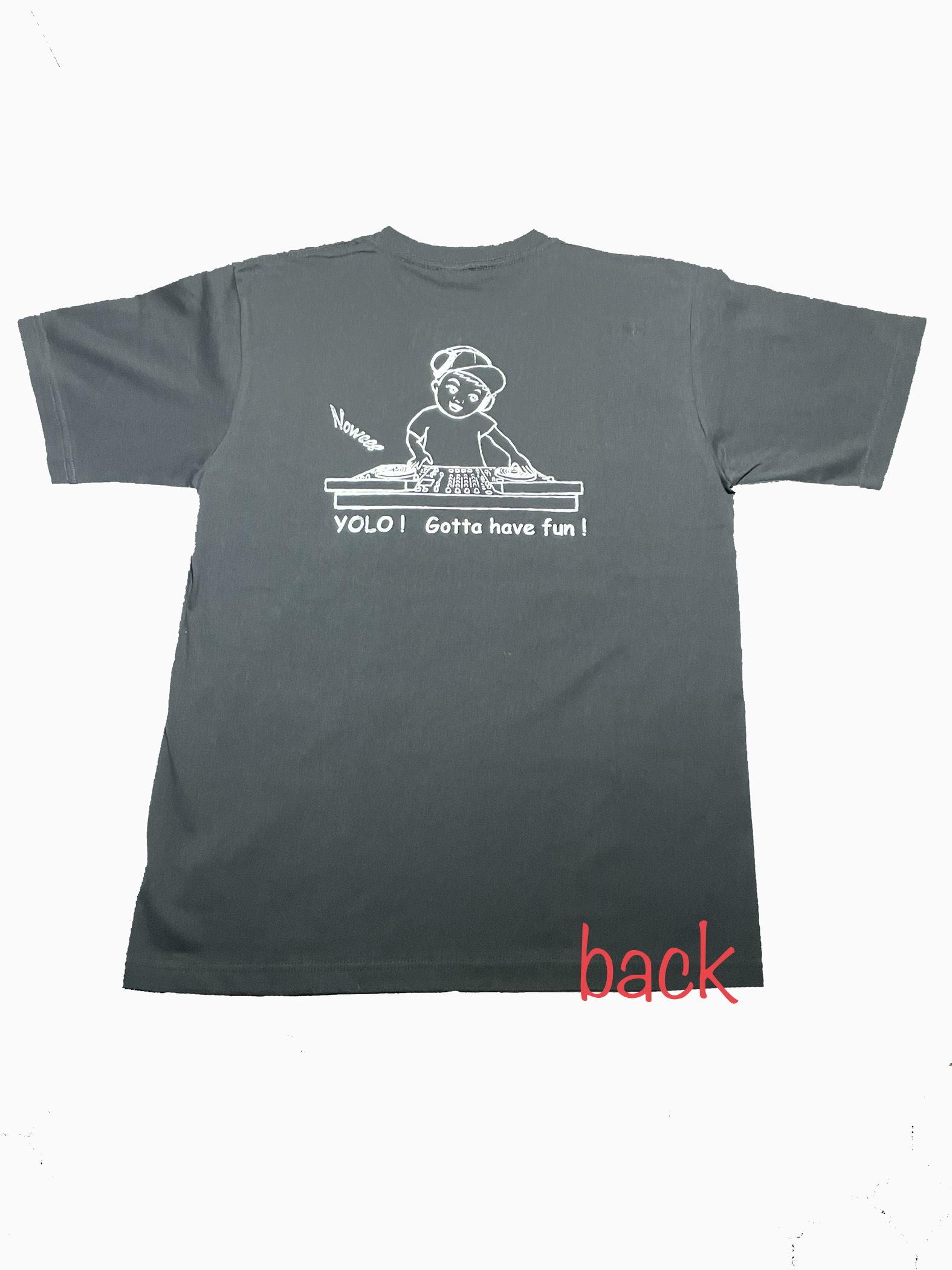 Tシャツ 〜DJ〜 【ブラック】 オリジナル