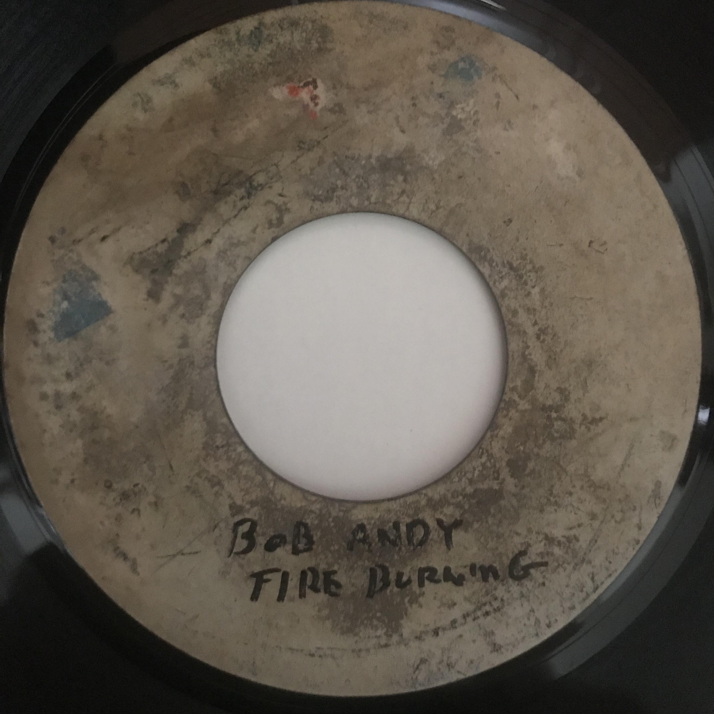 Bob Andy - Fire Burning【7-10906】