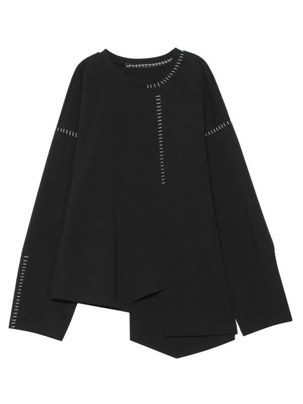【UN3D.】《21SS》ステッチロングトップス