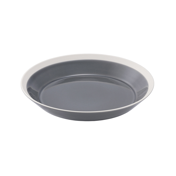 yumiko iihoshi porcelain Dishes プレート200 fog gray