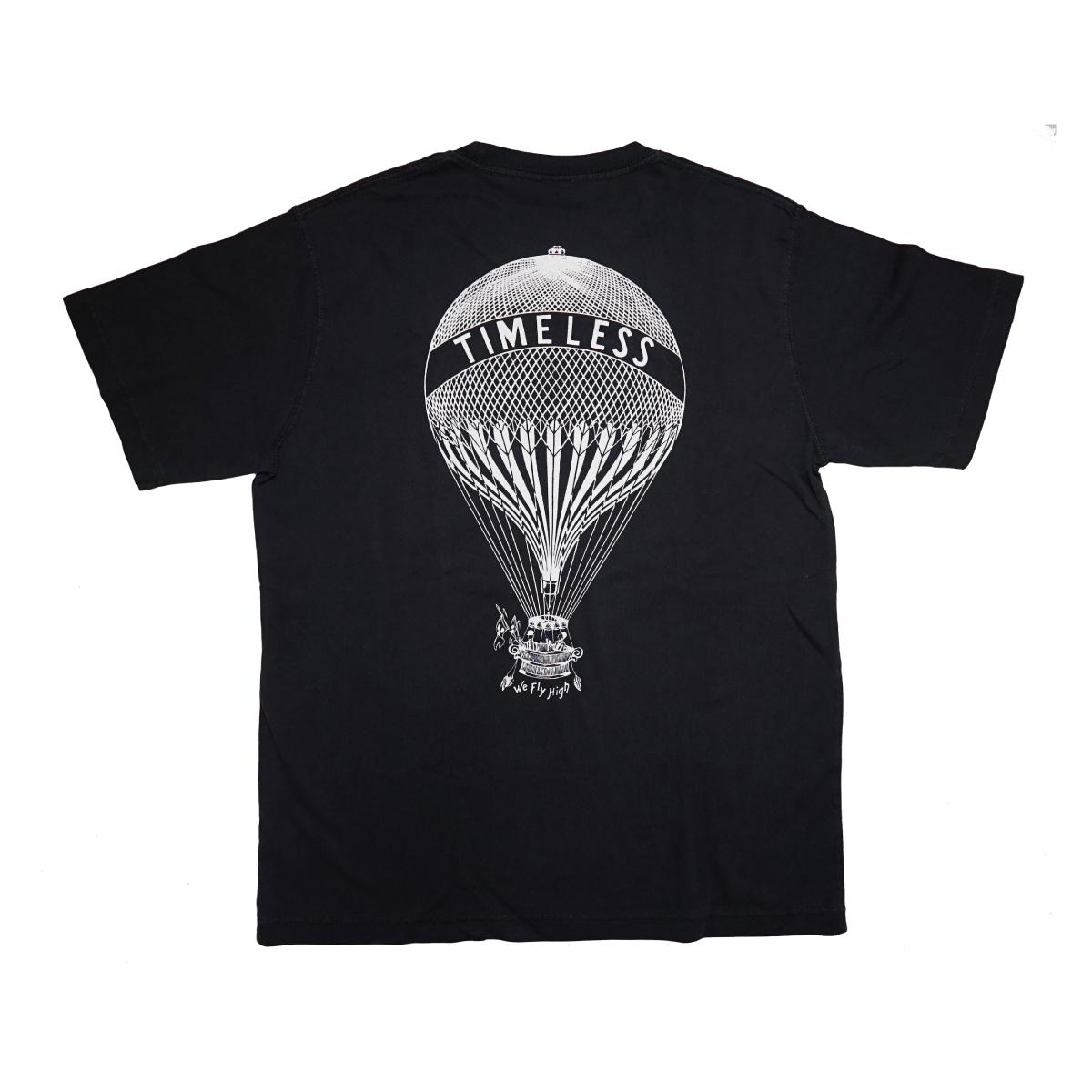 """""""Balloon"""" S/S ポケットTシャツ V.BLACK"""