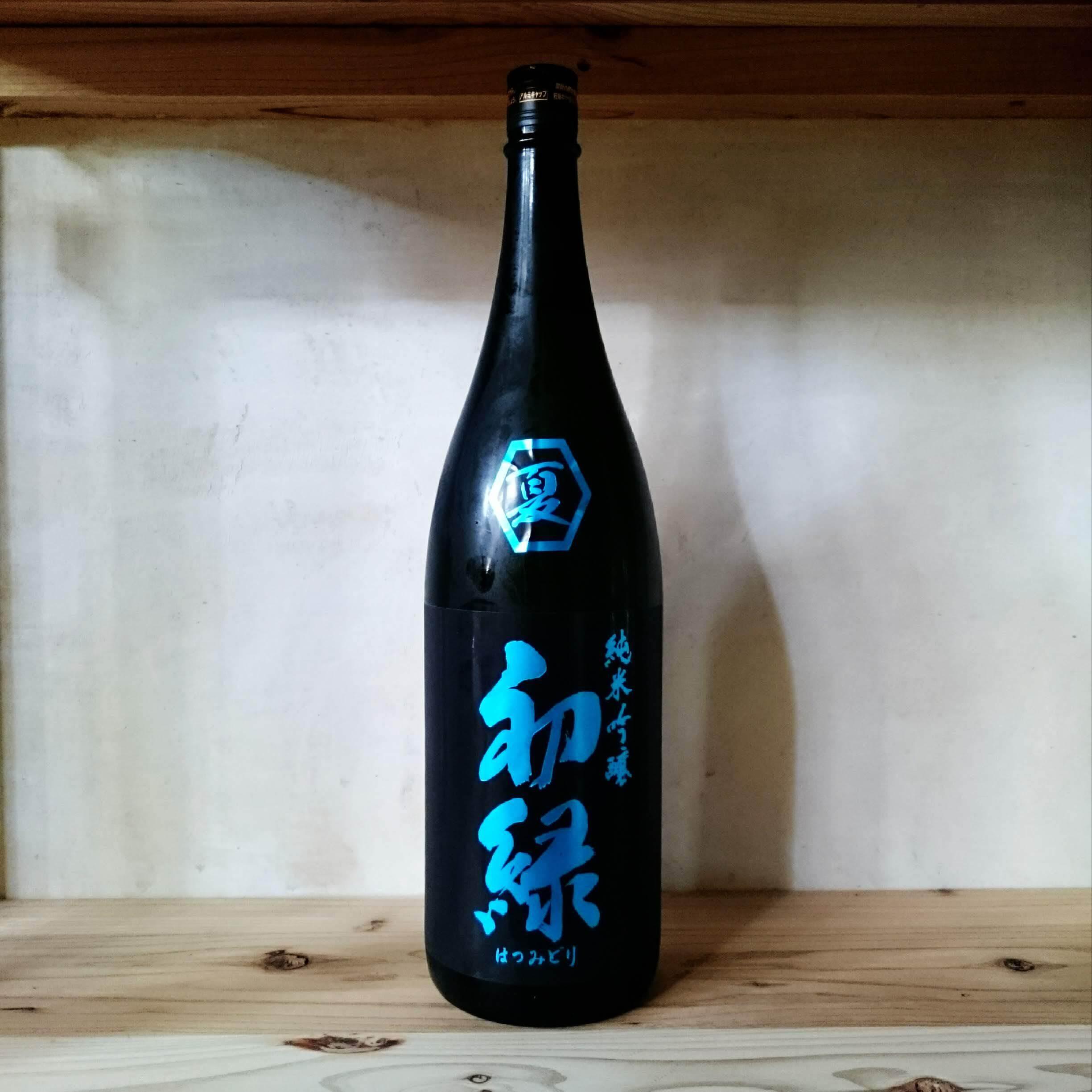 初緑 純米吟醸 夏 1.8L