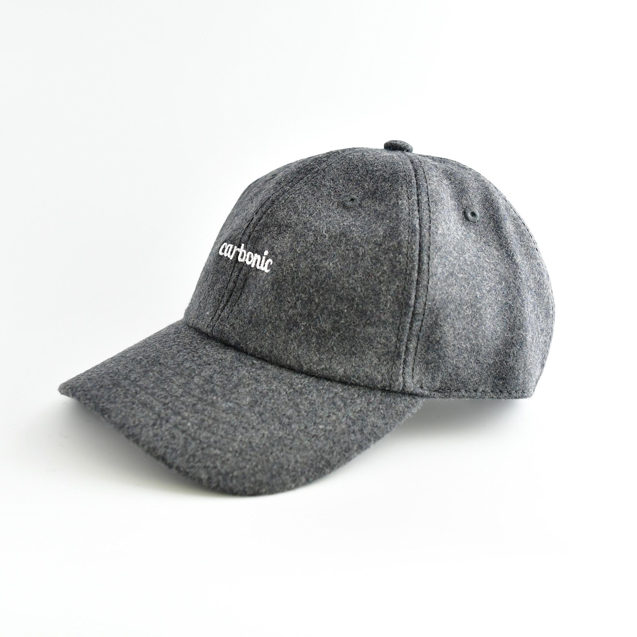 carbonic 6PANEL wool blend cap