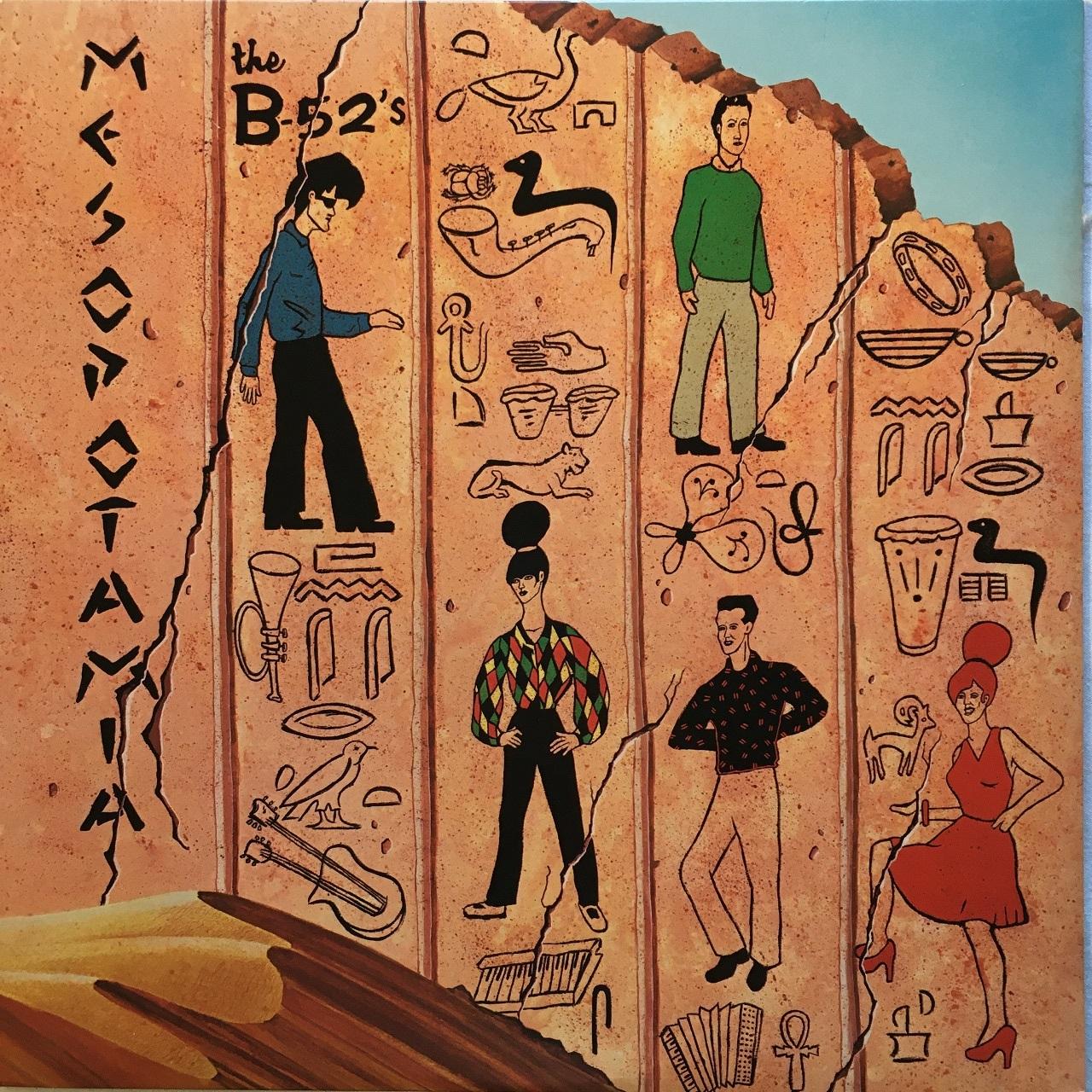 【12inch・米盤】The B-52's  / Mesopotamia