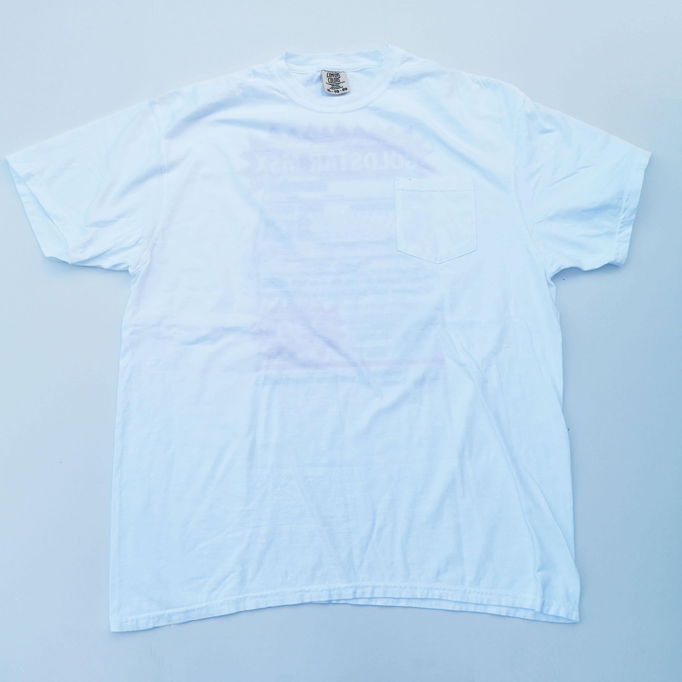Pee Cee For Sale POCKET TEE WHITE XL -SOUVENIR PACK-