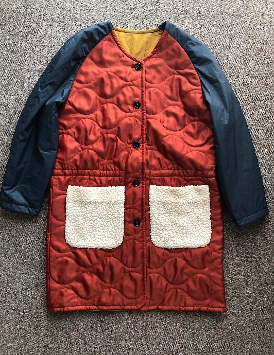 reversible coat / COINONIA