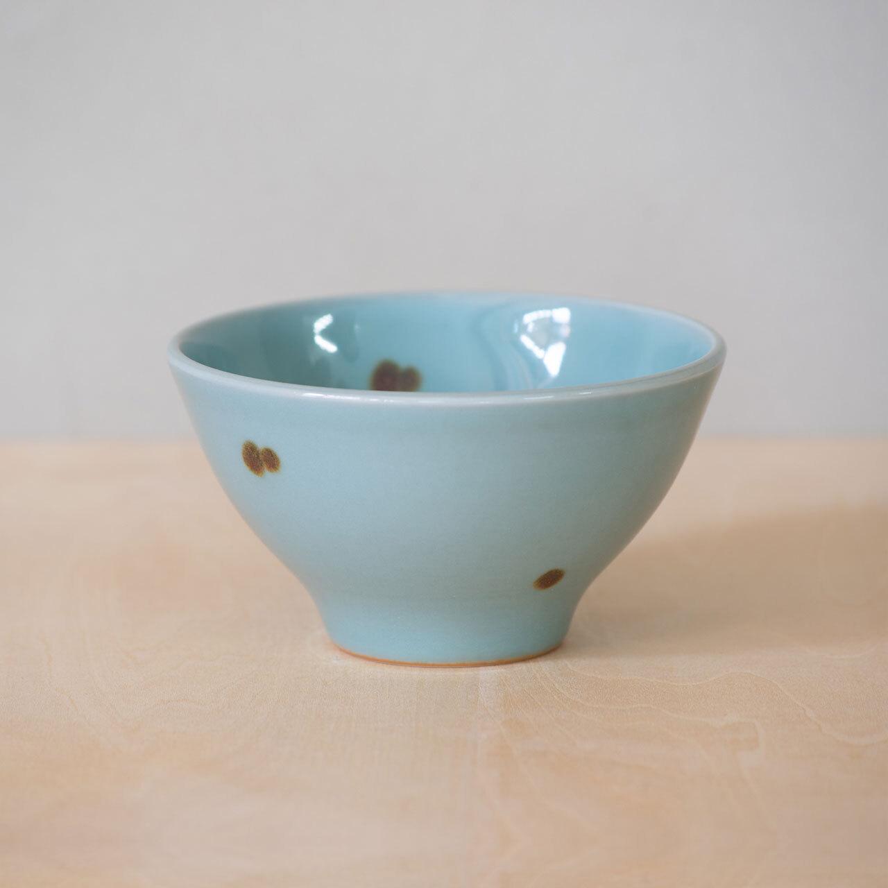 飛青磁 茶碗(大)