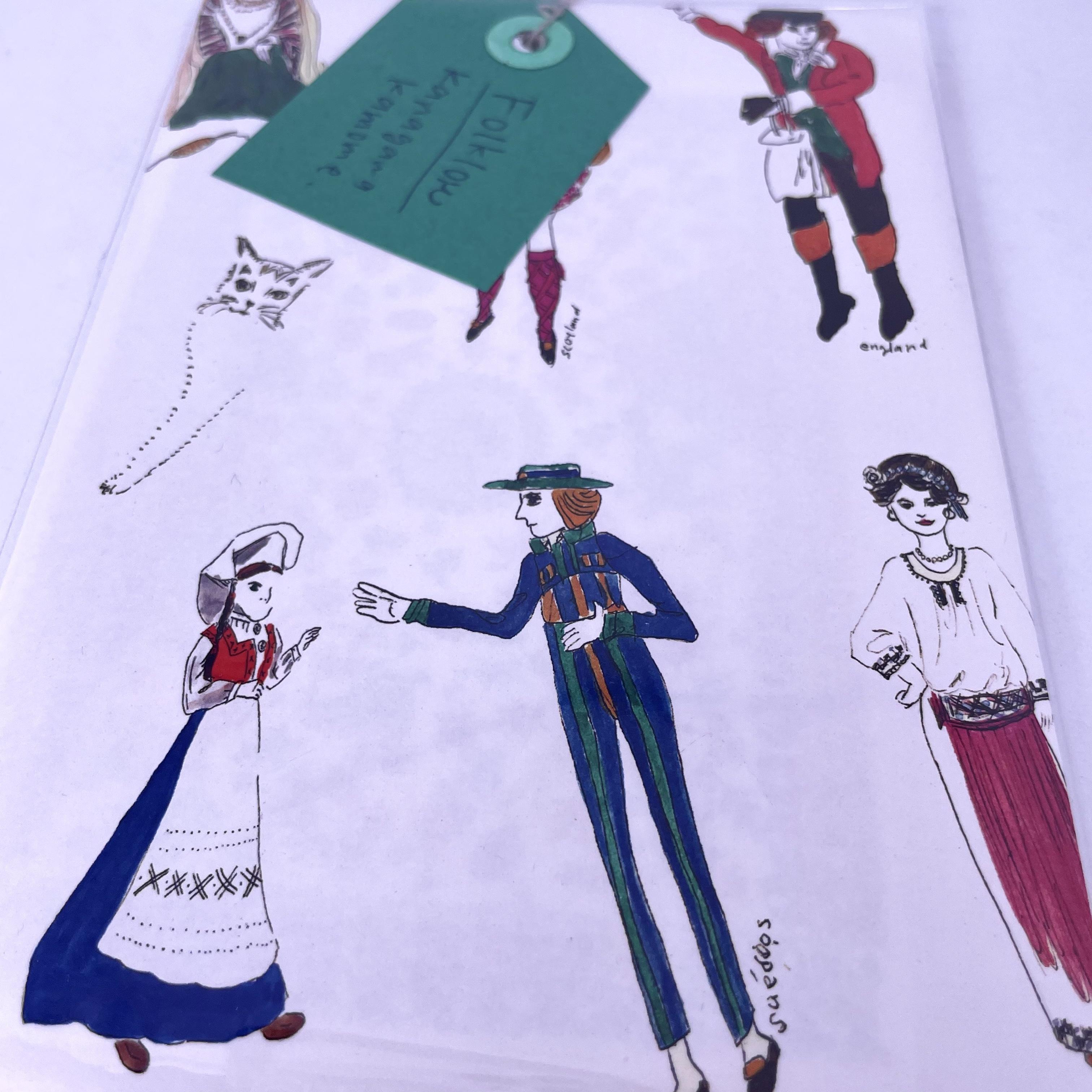 【Kamome】folklore(フォークロア)イラストカードセット