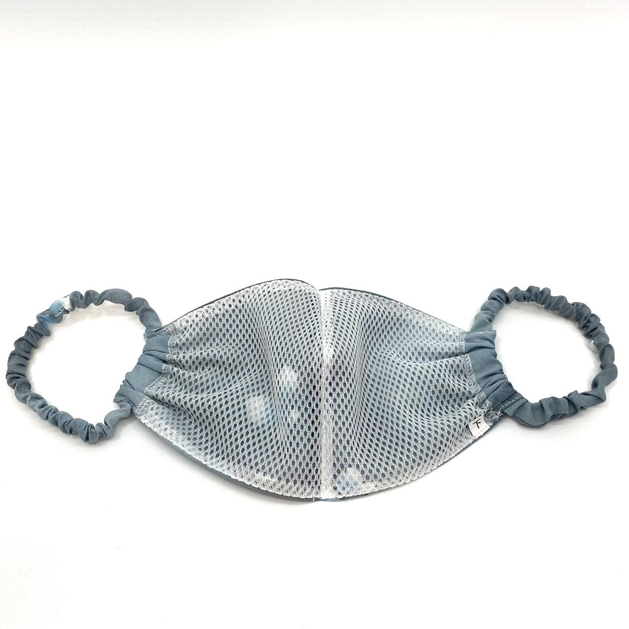 ①息がしやすい通気性の良い浴衣生地で作った和柄マスク  Mサイズ [大人用・男性用]【全国送料無料】