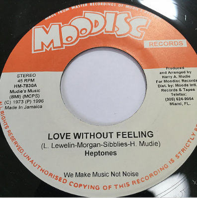 Heptones (ヘプトーンズ) - Love Without Feeling【7'】
