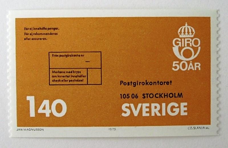 ポスタルジャイロ50年 / スウェーデン 1975