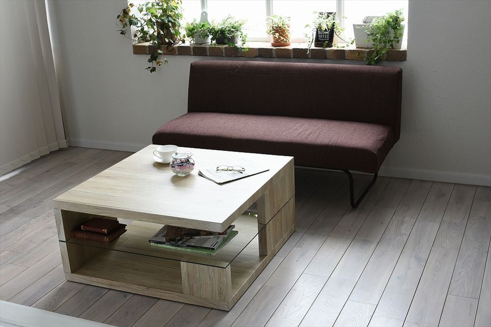 Sandbar Low Table / White / カリフォルニアモダンスタイル サンドバー ローテーブル  /ホワイト