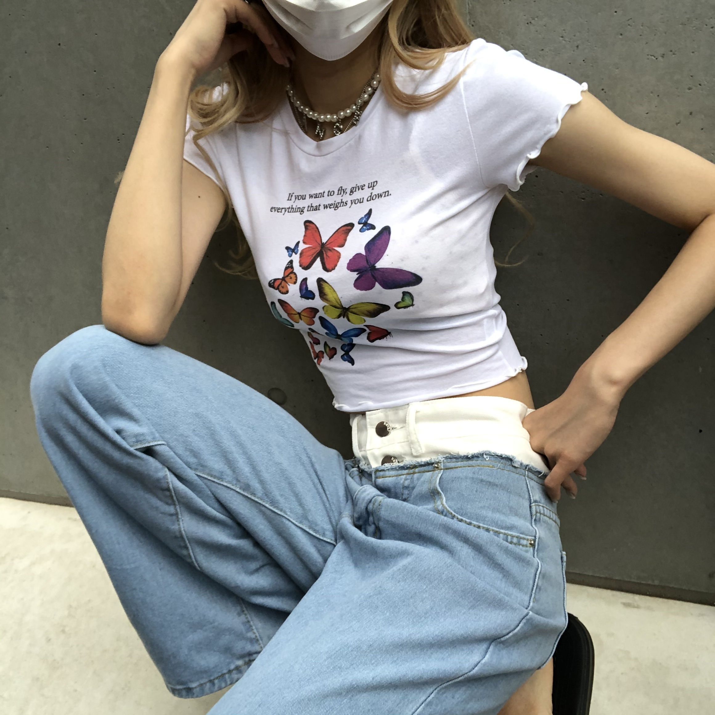 butterfly mini Tshirts