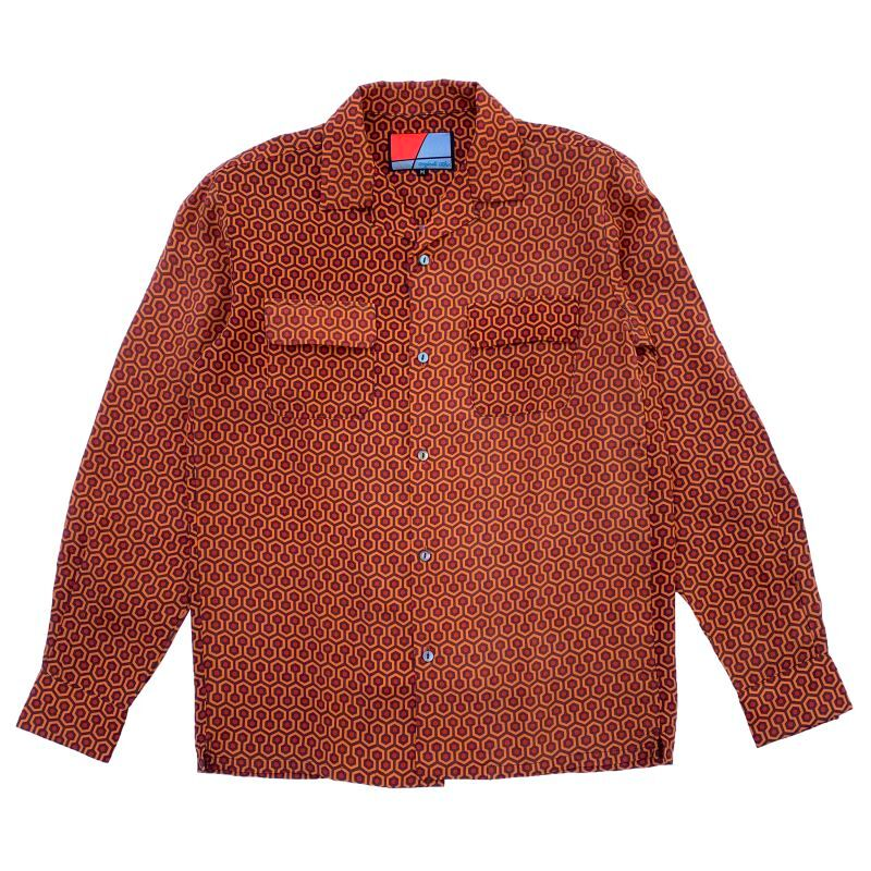 Original John | OPEN COLLAR SHIRTS - HONEYCOMB [SH403]