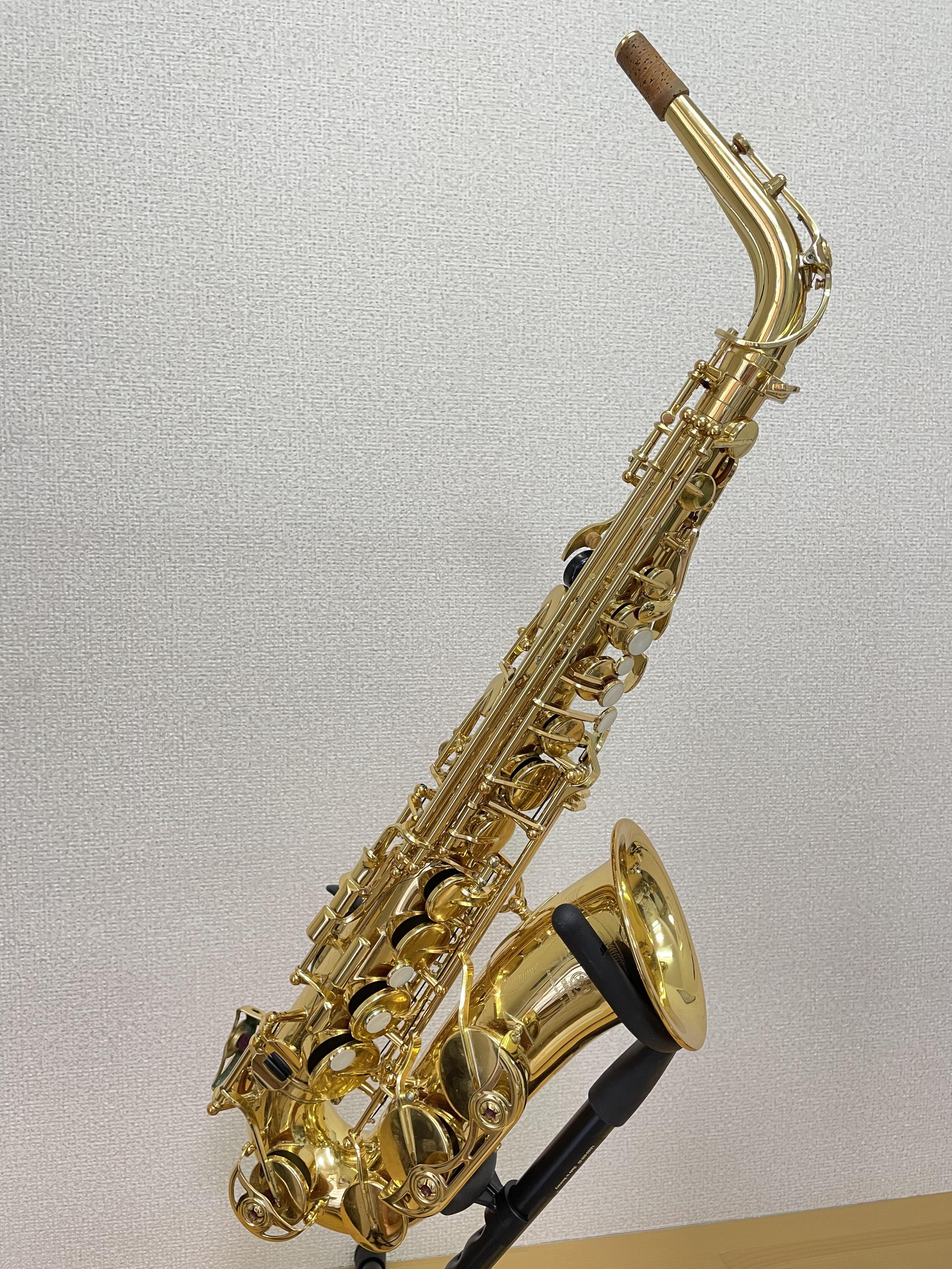【YAMAHAサックス】【中古楽器】ヤマハ 中古アルトサクソフォン YAS-62 部分タンポ交換、調整済み