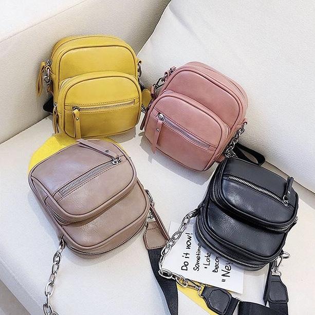 チェーン ショルダー バッグ 4カラー bag139