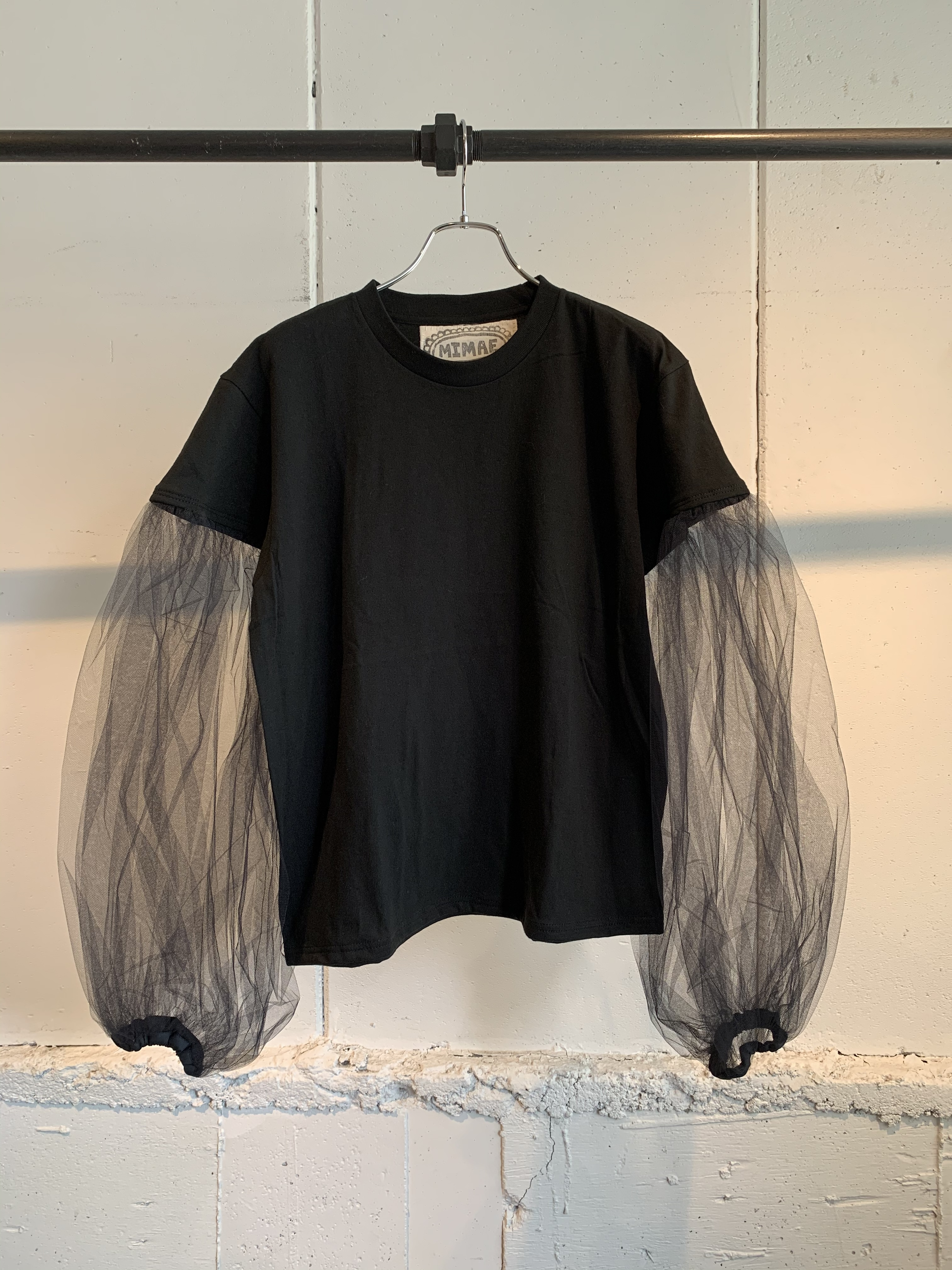 MIMAE tulle tops